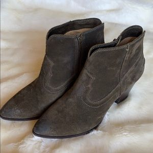 COPY - Frye suede booties